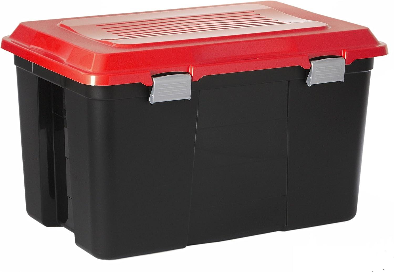 Tanker 100L multicolor(Negro/Rojo): Amazon.es: Hogar