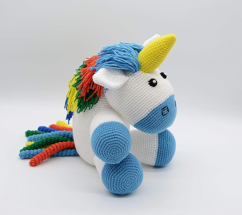 Unicorn Crochet-Amigurumi Unicorn-Unicorn Toy-Unicorn | Etsy | 1331x1500