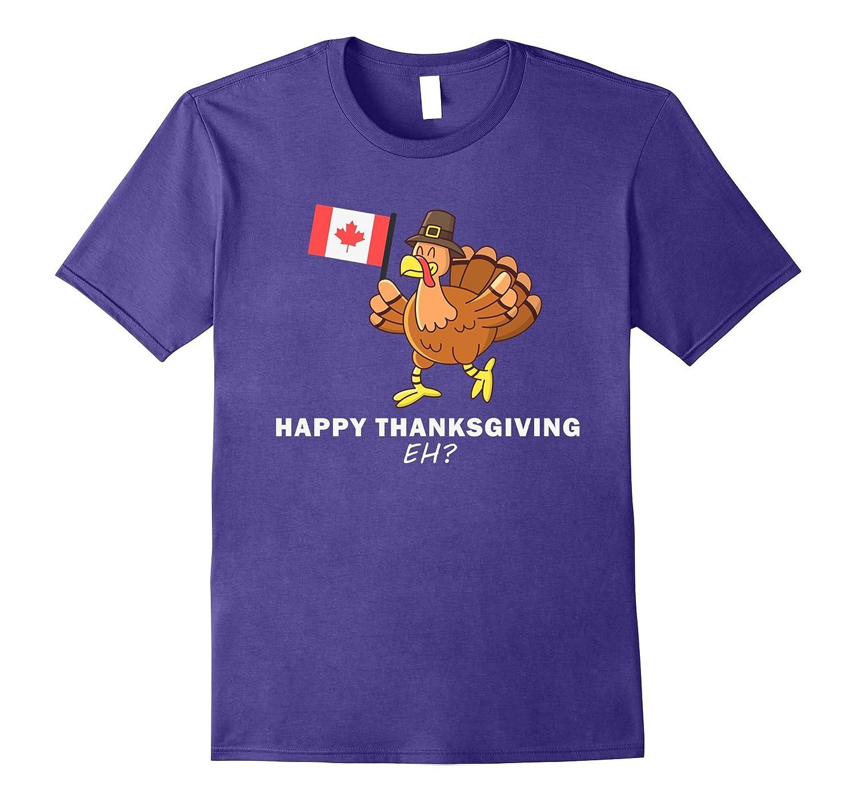 Canadian Thanksgiving Dinner T-Shirt - Canada USA Turkey Eh-Art