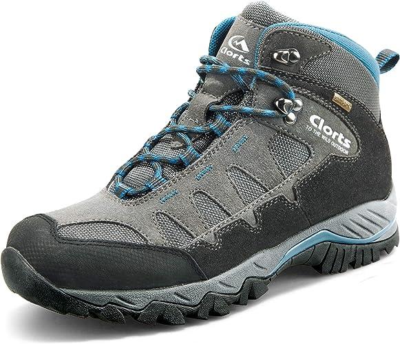 Clorts Chaussures De Randonnée Imperméable En Plein Air