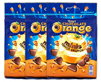 Amazon Com Original Terry S Chocolate Orange Minis Toffee Crunch