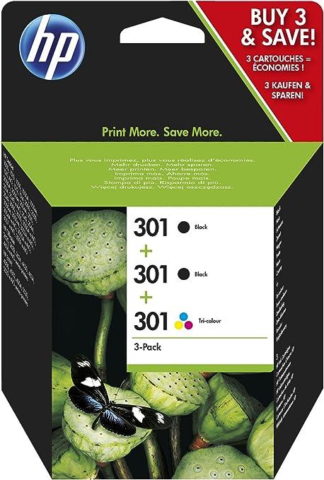 HP E5Y87EE - Cartucho de tinta numéro 301 para impresora HP ...