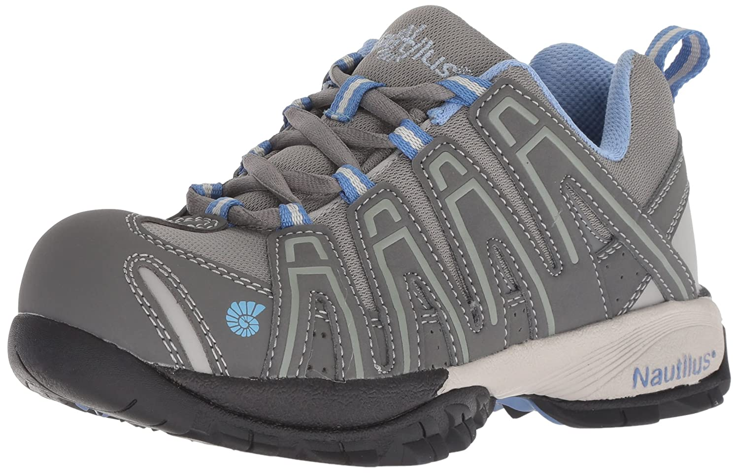Nautilus Safety Footwear レディース B005BK5VU8 7.5 B(M) US|グレー グレー 7.5 B(M) US