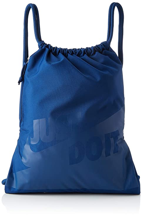Nike Heritage GFX Turnbeutel Coastal Blue, 44 x 33 cm