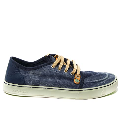 Satorisan - Zapatillas de Lona para hombre Azul Azul oscuro 41 44 Azul Size: EU 41: Amazon.es: Zapatos y complementos