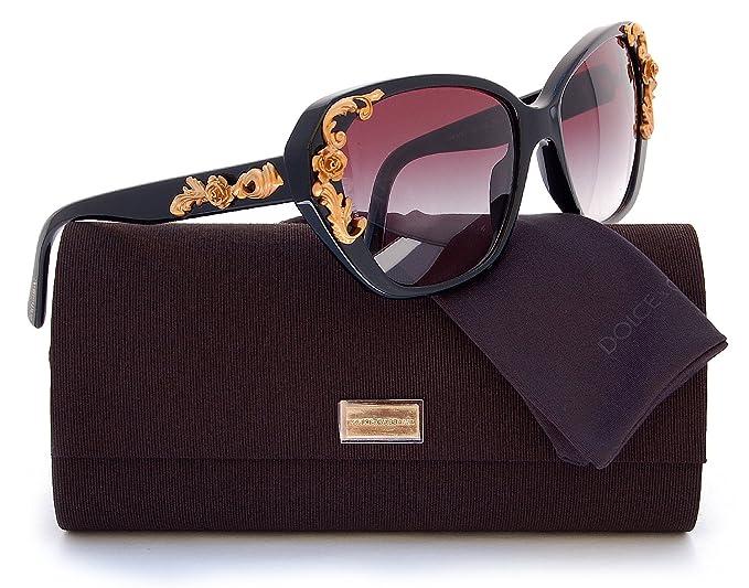 caec39f5fda Image Unavailable. Image not available for. Colour  Dolce   Gabbana DG4167  Sicilian Baroque Sunglasses ...