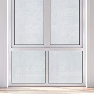 """product image for Gila 50146388 Privacy Control Winter Morning Residential Glue No Adhesive Static Cling DIY 3ft x 6.5ft (36in x 78in) (19.5 sq ft) Window Film, 36"""" x 6.5', Frosted"""