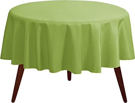 Round Round Tablecloth Floral Red  Green Oval Rectangular 100/% Cotton Table Linen
