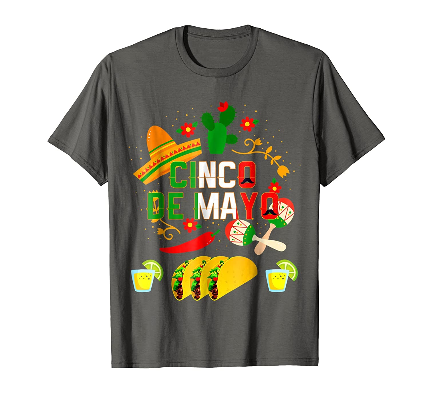 e94a4cd4 Imported Machine wash cold with like colors, dry low heat. An Awesome Cinco  de Mayo T-Shirt for your 5th of May Mexican ...