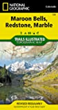 Maroon Bells, Redstone, Marble (National Geographic Trails Illustrated Map)