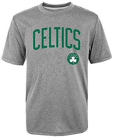 c1187fa7c764 ... NBA Youth Performance All Star Players Name Number T-Shirt Grey (Isaiah  Thomas Boston Celtics Road Replica ...