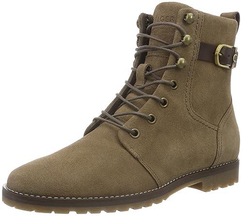 W1285ENDY 10B, Zapatillas de Estar por Casa para Mujer, Marrón (Mink 906), 41 EU Tommy Hilfiger