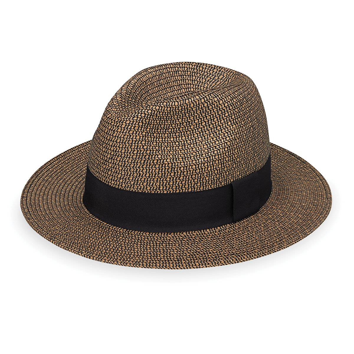 Wallaroo Hat Company Women's Josie Sun Hat - Lightweight and Breathable Sun Hat - UPF 50+, Mixed Brown