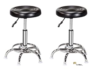 Da URBAN Doctor Stool (Black) (Set of 2) ISO and BIFMA Certified