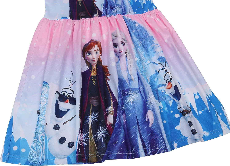 LQSZ Kid Girls Nightgown Night Dresses Princess Pajamas Dress Sleepwear Nightie