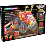 Laser Pegs Fire's Fury Light-Up Building Block Playset (350 Piece) The First Lighted Construction Toy to Ignite Your Child's Creativity; It's Your Imagination, Light It Up