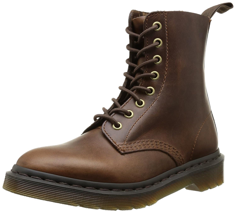 Dr. Martens Men's Pascal 8 Eye Boot B00IM5JTYS 4 M UK / 6 B(M) US Smokethorn