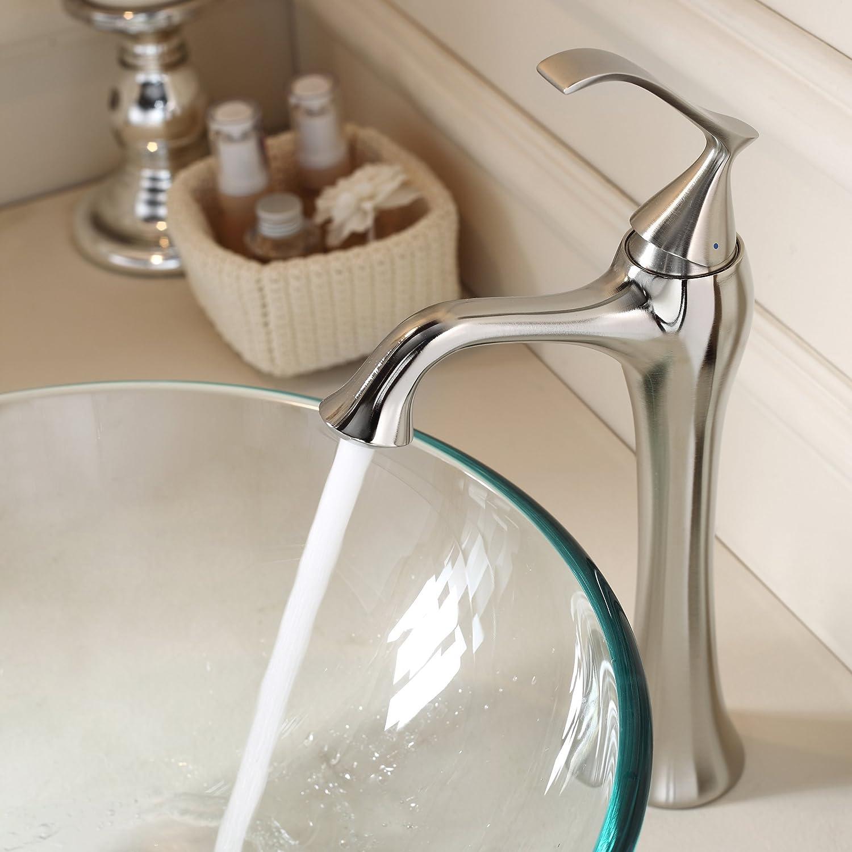 Kraus KEF BN Ventus Single Lever Vessel Bathroom Faucet