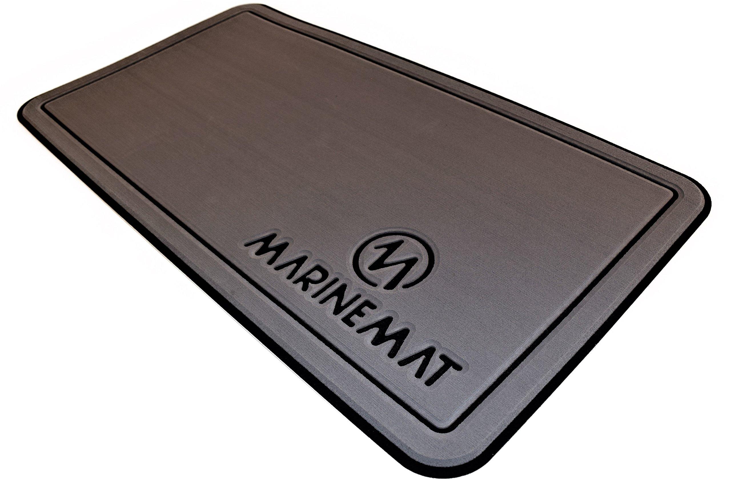 Marine Mat YETI Tundra Cooler Pad (Slate Gray Over Black, Fits Tundra 20) by Marine Mat