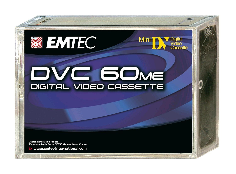EMTEC DVC 60 Video cassette - Confezione da 1