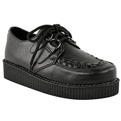 Amazon.com | Fashion Thirsty Womens Creeper Goth Punk Platform ...