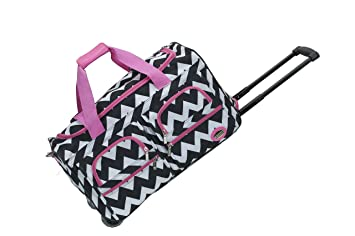 16c44f4ea0 Image Unavailable. Image not available for. Color  Rockland 22 quot  Rolling  Duffle Bag ...