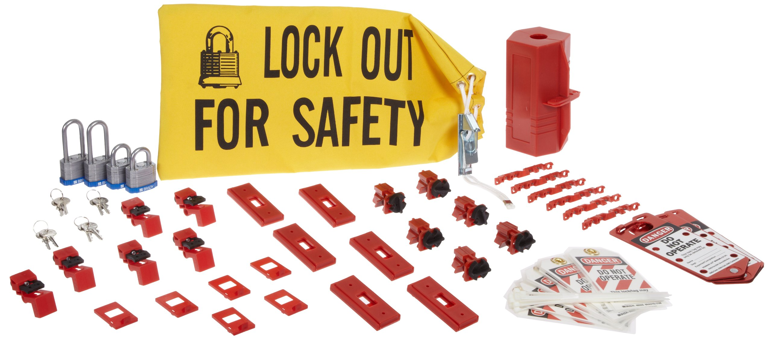 Brady 65777 Electrical Lockout Starter Kit (1 Kit)