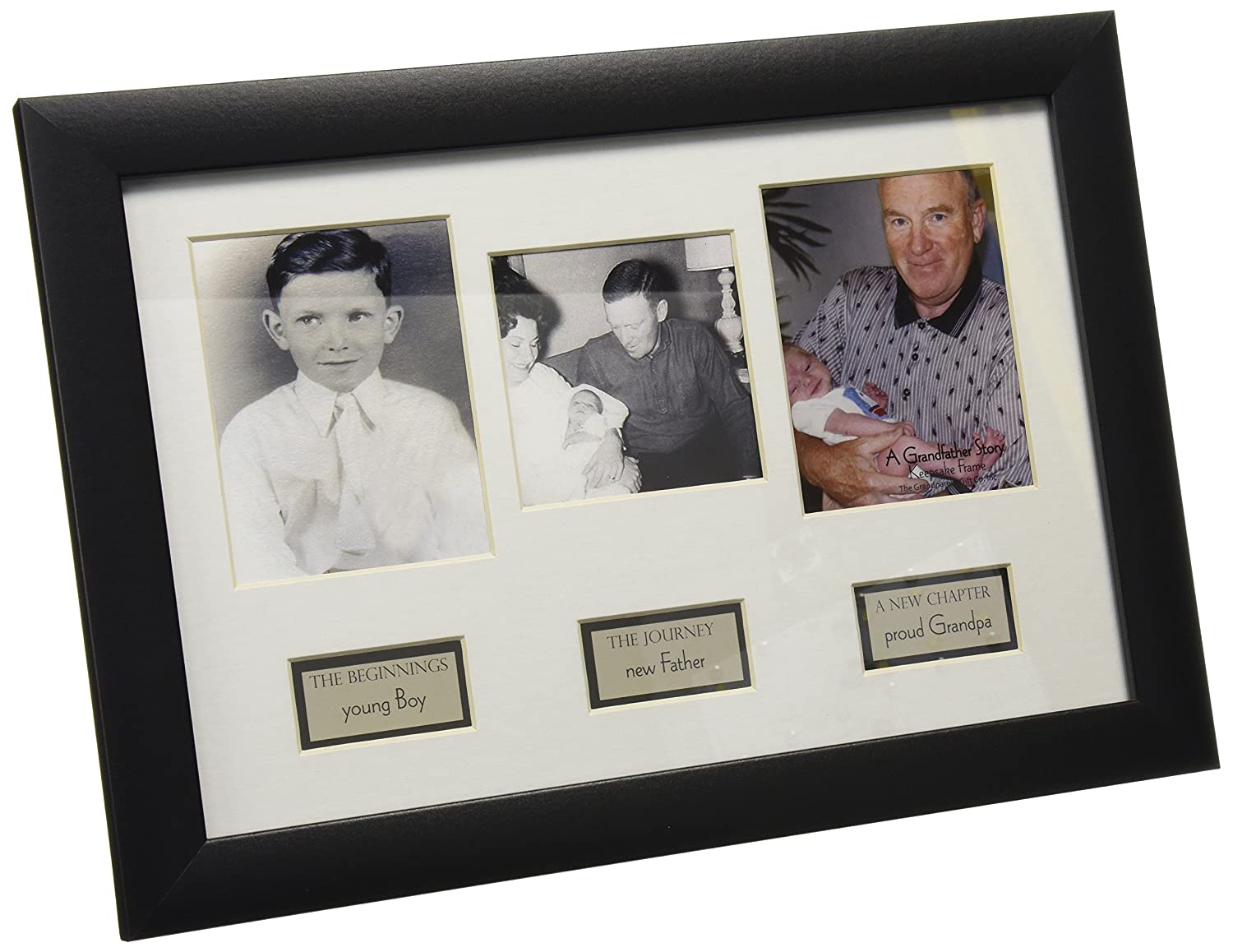 The Grandparent Gift Life Story Frame, Grandpa 1096