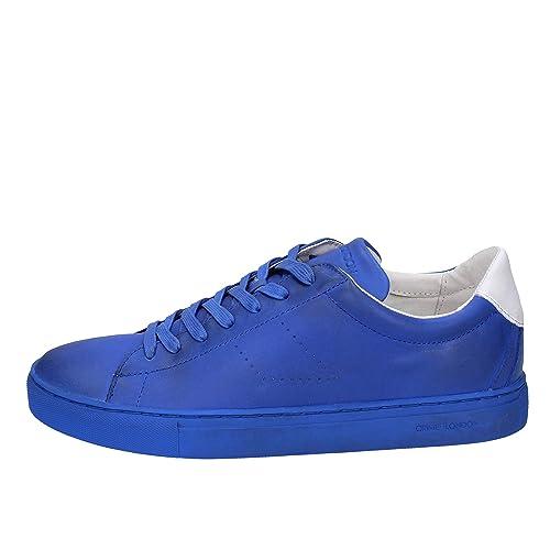 Crime London 42 Uomo Borse EuAmazon Pelle itScarpe E Blu Sneaker uF3T5cl1JK