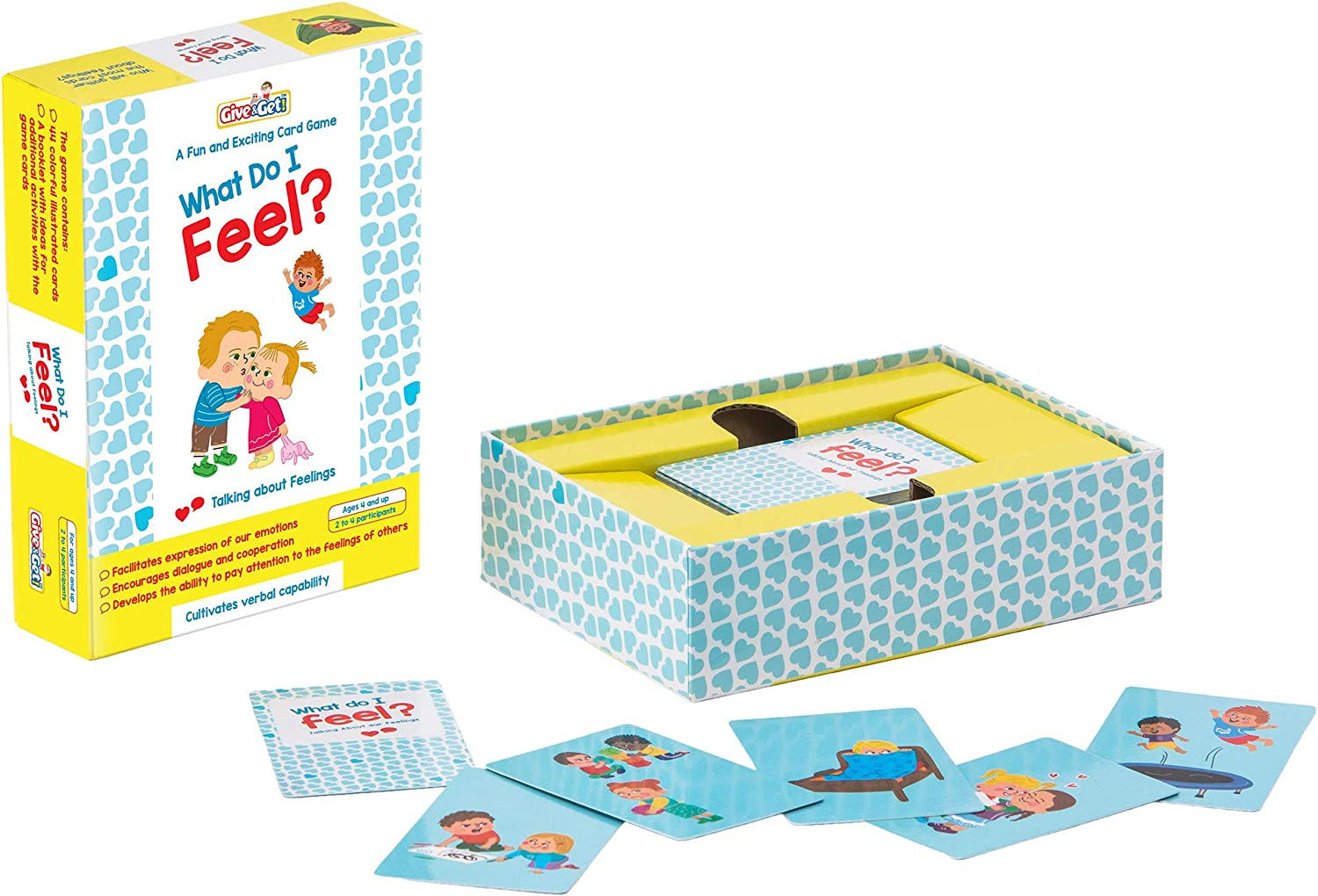 What Do I Feel? A Flash Card Game For Kids to Help Discuss and Express Feelings And Encourage Expression Through Speech. Emotion Cards for grades 4 and up