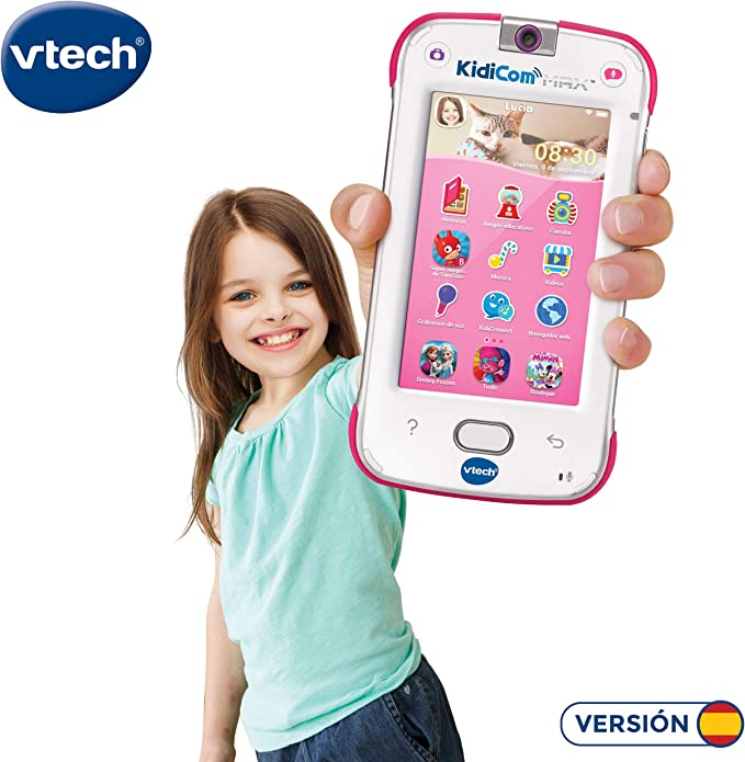 Amazon.es: VTech Dispositivo multifunción Kidicom MAX, Color Rosa ...