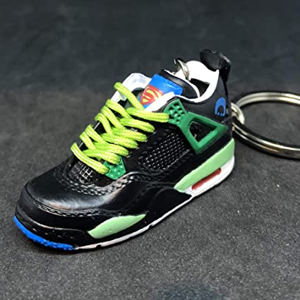 best website 33693 646a1 Amazon.com  Air Jordan IV 4 Retro DB Doernbecher Superman OG Sneakers Shoes  3D Keychain 1 6 Figure  Everything Else