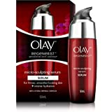Olay Regenerist Advanced Anti-Ageing Micro Sculpting Serum + Intense Hydration with Hydra Firming Complex, Skin Cream, 50ml