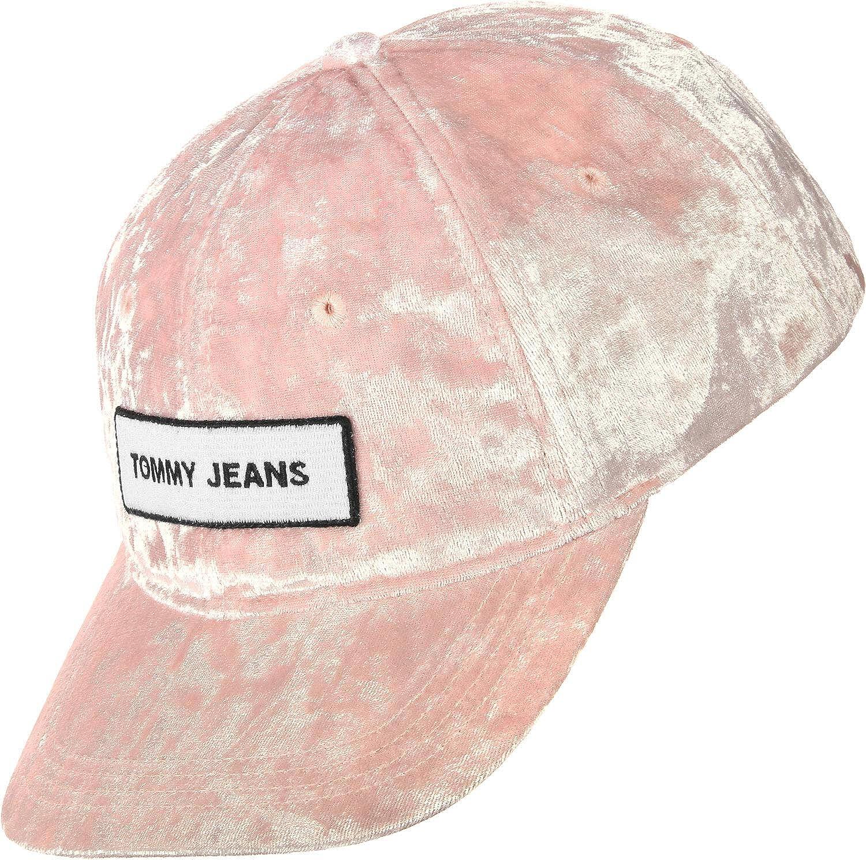 Pink Tommy Hilfiger Hats TJW Velvet Baseball Cap