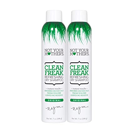 ab7117b1889 Amazon.com  Not Your Mother s Clean Freak Refreshing Dry Shampoo Duo ...