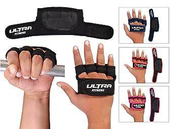 Almohadilla de agarre gimnasio Gel acolchado guantes de neopreno correas levantamiento de pesas cuerpo edificio entrenamiento