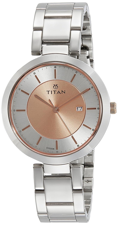 Buy Titan Ladies Neoii Analog Rose Gold Dial Women S Watch Nm2480km01 Nl2480km01 Online At Low Prices In India Amazon In