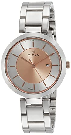 b0929120cc4 Buy Titan Ladies Neo-Ii Analog Rose Gold Dial Women s Watch ...