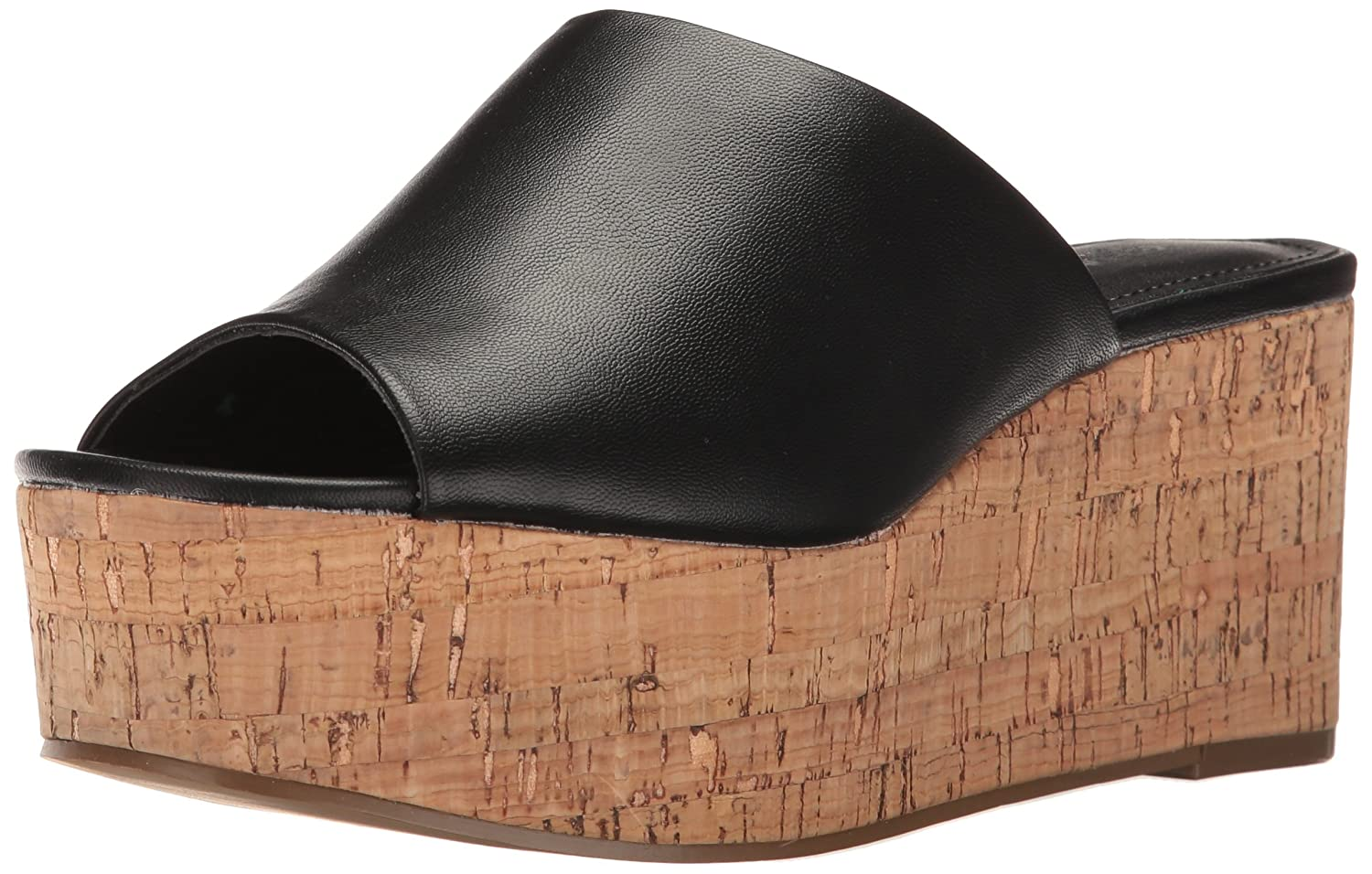 Charles by Charles David Women's Crisp Wedge Sandal B01LYYHZWM 7.5 B(M) US|Black