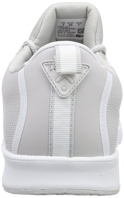 Lacoste L.IGHT 116 1 SPW Damen Sneakers Sneakers Sneakers Mehrfarbig (LightGrau/Weiß 2q5) 4dd143