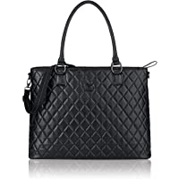 SOLO Solo Classic Collection Ladies Laptop Tote with Padded Compartment for Computer up to 15.6 Inches, Black (CLA852-4)
