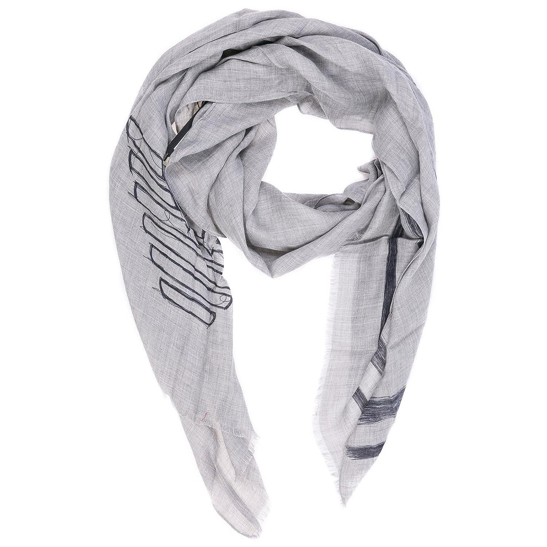 presa all'ingrosso ultimo stile qualità autentica Emporio Armani men's stole grey: Amazon.co.uk: Shoes & Bags