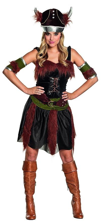 Boland - Disfraz de vikingo para mujer, talla 36 (87740 ...