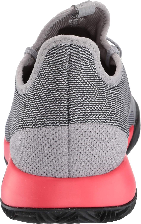 adidas - Adizero Defiant Bounce, Adizero Defiant Bounce Uomo Granito Chiaro Rosso Shock Nero