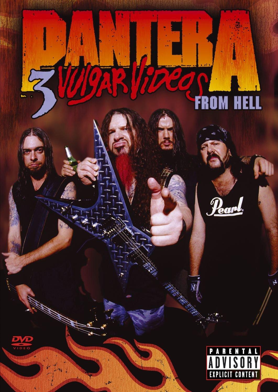Pantera - 3 Vulgar Videos From Hell by Warner Bros.