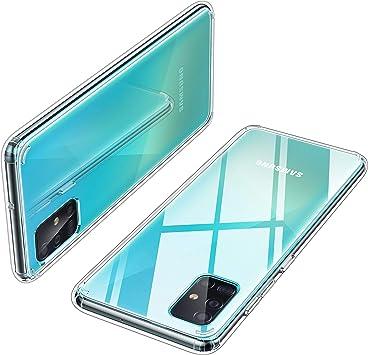 Yocktec Funda para Samsung Galaxy A51, Funda de Gel Ultrafina y ...