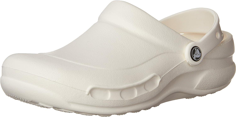 Crocs Specialist Enclosed (Unisex), White, Men's 11, Women's 13 Medium