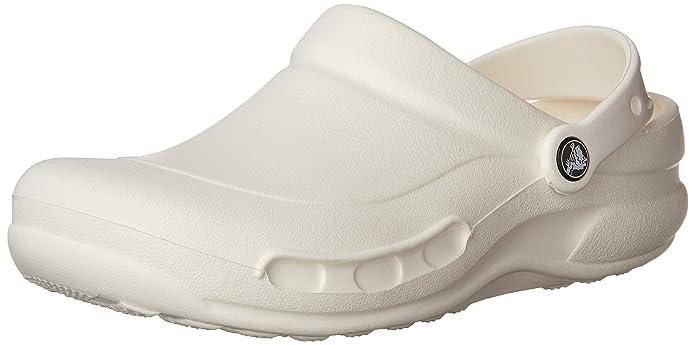 CrocsMercy Work - Sabot/sandali Donna, Bianco, 34-35
