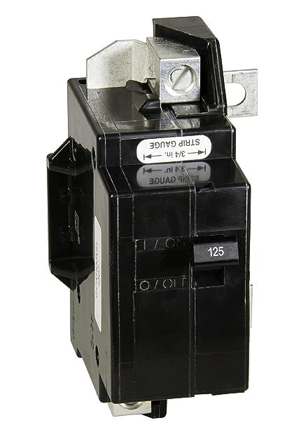square d by schneider electric qom125vhcp qom1 frame size 125 amp rh amazon com 30 Amp Automotive Fuse 30 Amp 250 Volt Fuse