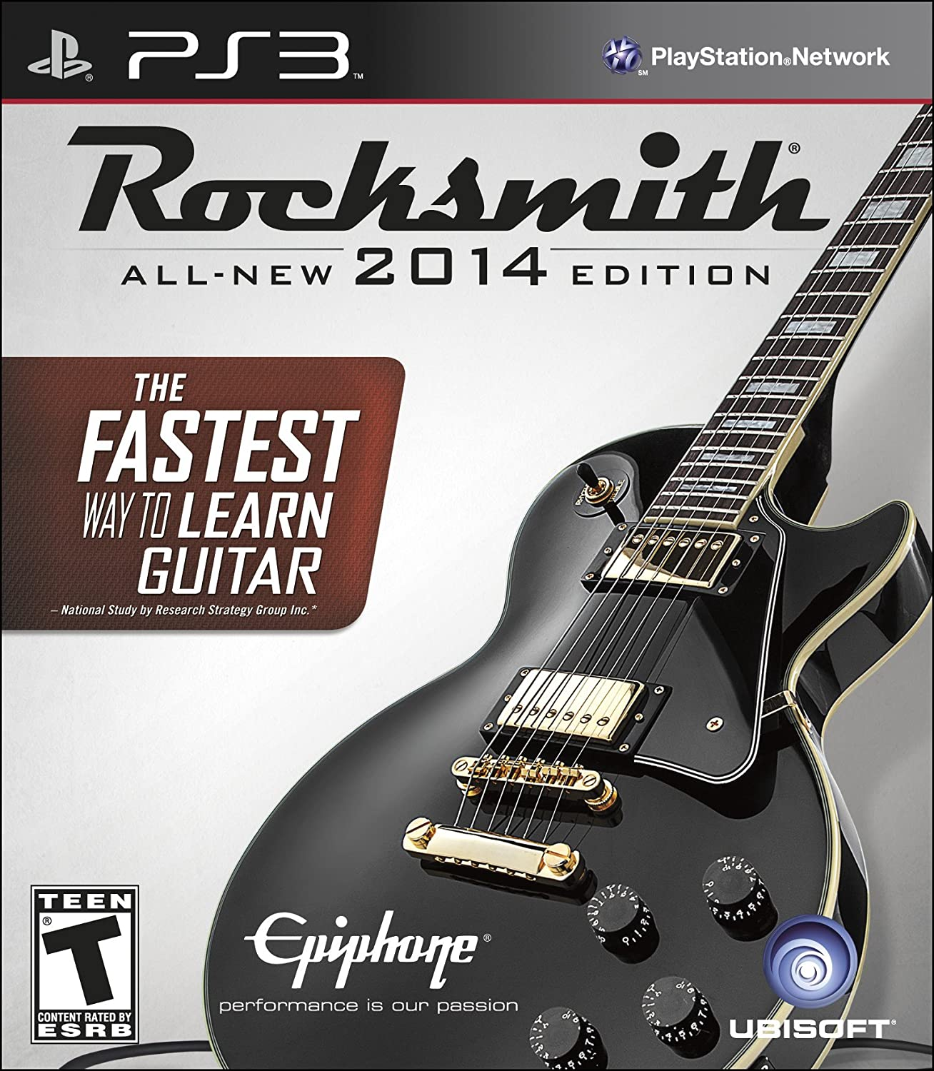rocksmith 2014 edition playstation 3 cable included
